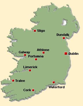 map portumna